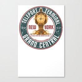 GRAND CENTRAL TELEPORT TERMINAL  Canvas Print