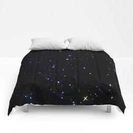 Rainbow Constellations Comforters
