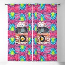 Groovy Hippie Van Blackout Curtain