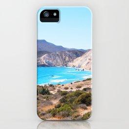 233. Tsigrado View, Greece iPhone Case