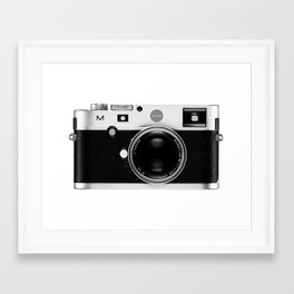leica camera Framed Art Print