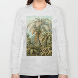 Vintage Tropical Palm Long Sleeve T-shirt