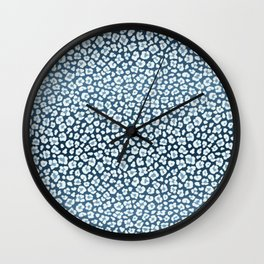 Inverted leopard print Wall Clock