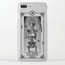 The Gamer X Tarot Card Clear iPhone Case