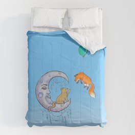 The fox and the cat Comforters