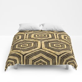 Gold Tree Trance Comforters