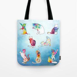 Painted Cats Tote Bag