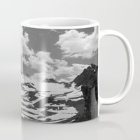 blankets Mugs featuring Blankets in the Desert by Michael Wytiahlowsky