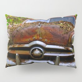 Sunlight on Old Car Pillow Sham