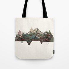 This mountain light Tote Bag