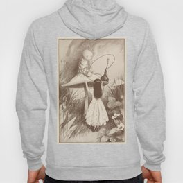 Alice in Wonderland With the Caterpillar Hoody