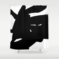 mother Shower Curtains featuring mother by ARTbyJWP