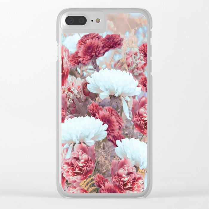 Summer bouquet - #Society6 #buyart Clear iPhone Case