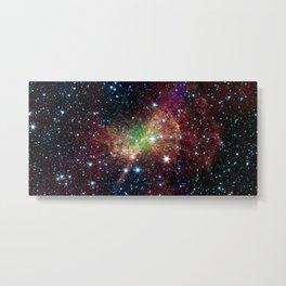 428. Cosmic Inkblot Test Metal Print
