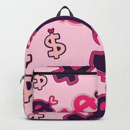 Barbie Dollar Sign Money Backpack