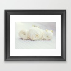 Froufrou Framed Art Print
