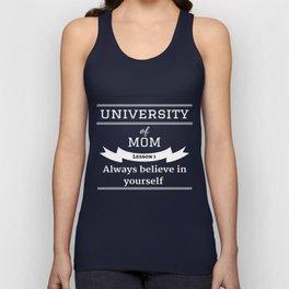 University of Mom Unisex Tank Top