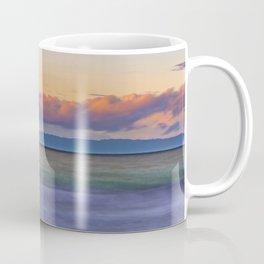 Long Exposure Dawn at Newport Pier Coffee Mug