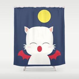 Mog the Moogle Glitz Shower Curtain