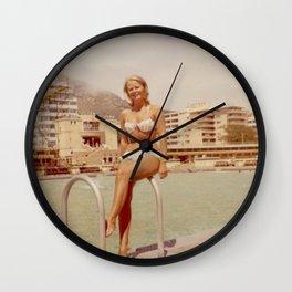 Sea Point lady Wall Clock