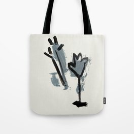 a tulip and a thistle Tote Bag