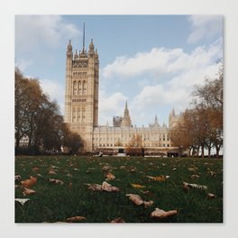 Westminister Abbey Canvas Print