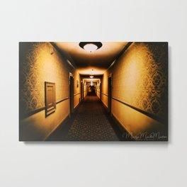 A hallway to remember Metal Print