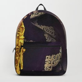 Golden Tears II, Twilight (Freya's Heartache) portrait painting Backpack