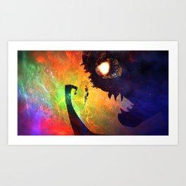 Monster Man Art Print