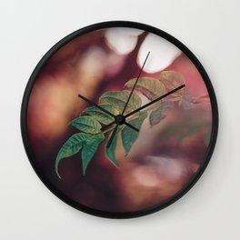 Fiery Heart. Wall Clock