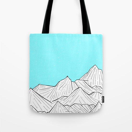 Glacier Mounts Tote Bag