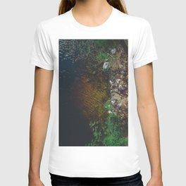 Summer Lake - Aerial Photography T-shirt