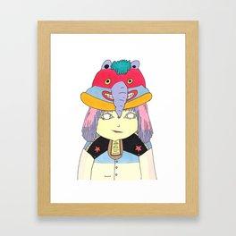 My Hat Framed Art Print