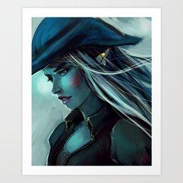 Piratess Art Print