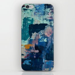 The Peace of Wild Things: a vibrant abstract piece in a variety of colors by Alyssa Hamilton Art iPhone Skin