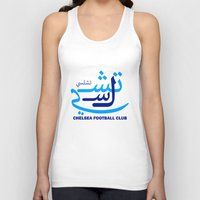 chelsea Tank Tops featuring Chelsea by Sport_Designs