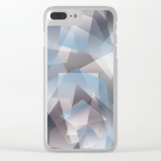 Abstract 209 Clear iPhone Case
