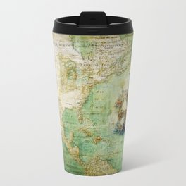 Map of North and Central America (c. 1681) Travel Mug