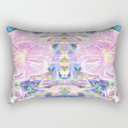 Flower Dimension Rectangular Pillow