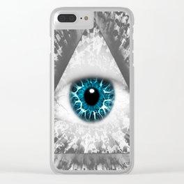 Dollar Eye Clear iPhone Case