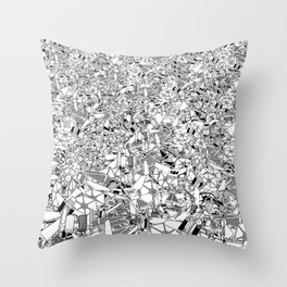 Imperial Tie Fights Throw Pillow