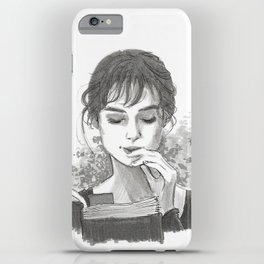 Pride & Prejudice - Elizabeth Bennet iPhone Case