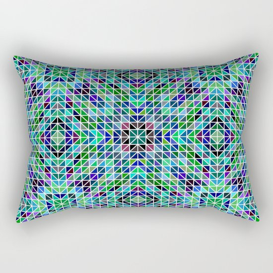 Kaleidoscope mosaic Rectangular Pillow