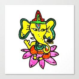 Ganesha by Elisavet Canvas Print