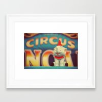 dumbo Framed Art Prints featuring Dumbo by Teodoru Badiu
