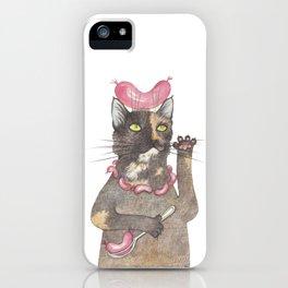 """""""Wurst cat"""" iPhone Case"""