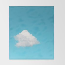 Happy Cloud Throw Blanket