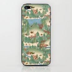 Travelling Through Jurassic iPhone & iPod Skin