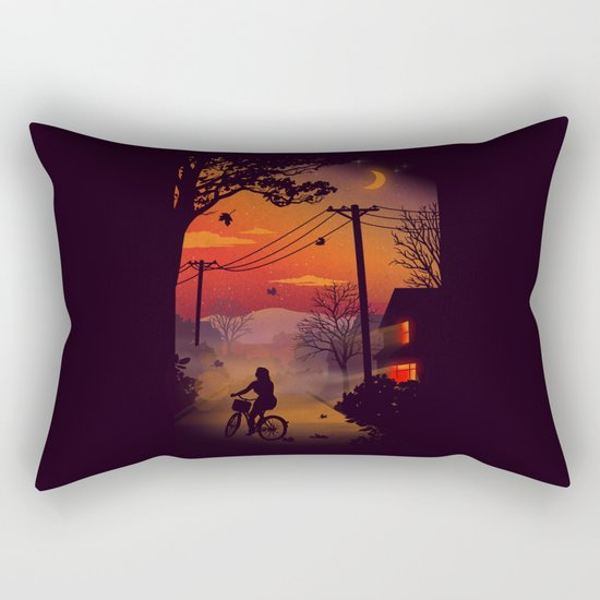 Ride Home Rectangular Pillow