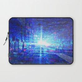 Blue Reflecting Tunnel Laptop Sleeve